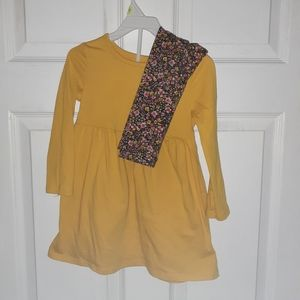 Old Navy Dress with Floral leggings